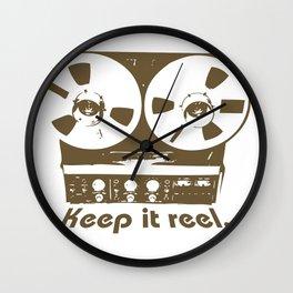 Keep It Reel Wall Clock