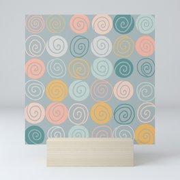 Juicy Swirls Mini Art Print