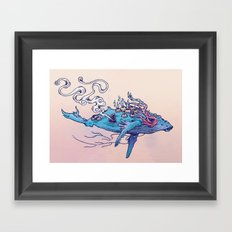 The Last Whale Framed Art Print