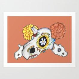 Dia de los Muertos (Cubone) Art Print