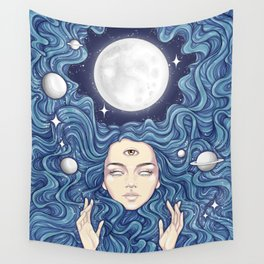 Trippy Chicks Wall Tapestry