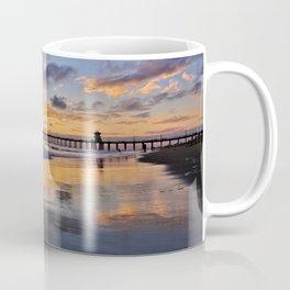 Huntington Beach Sunsets  9/14/15 Coffee Mug