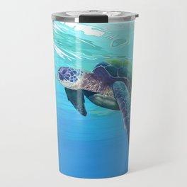 Sea Turtle pattern Travel Mug