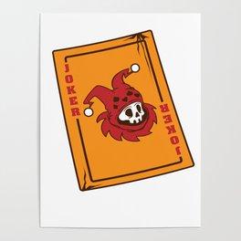 Joker gamer card game Dead movie fan gift Poster