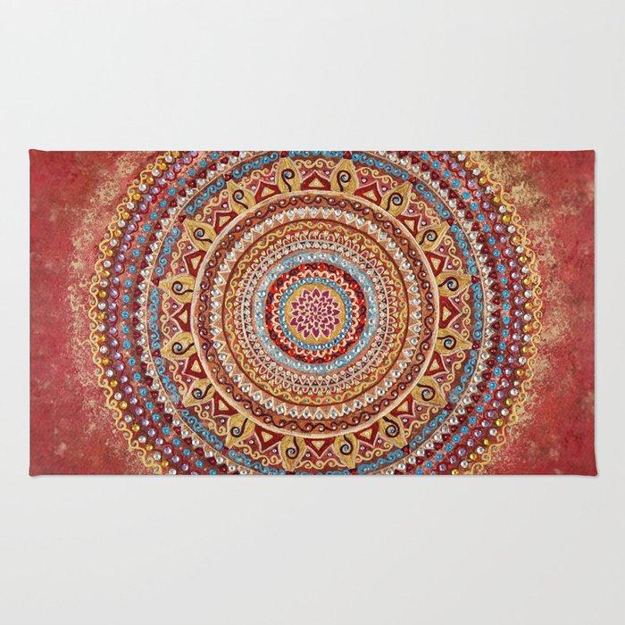 Ancient Recollections Mandala Rug