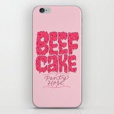 Beefcake Pantyhose iPhone & iPod Skin