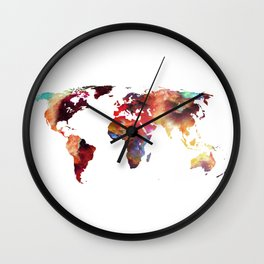 Colorful World Wall Clock