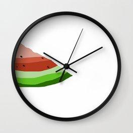 watermelon days Wall Clock