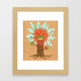 Ginger Birdfriend.  Framed Art Print