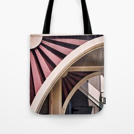 Flower Arch Tote Bag
