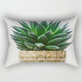 Antique Potted Plant Rectangular Pillow
