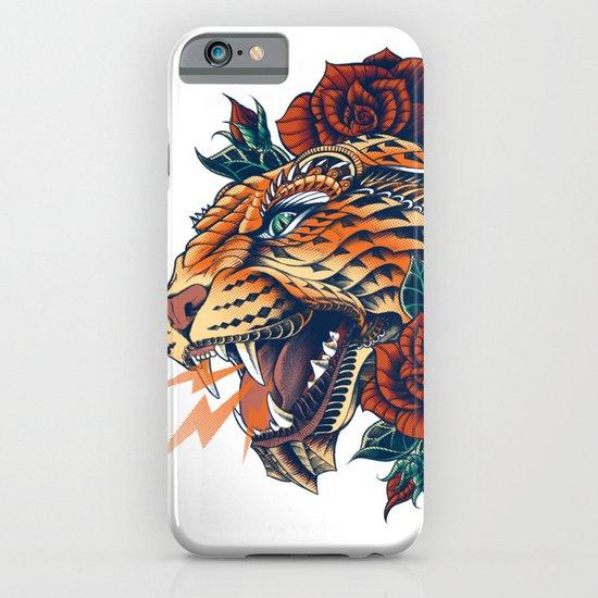 Ornate Leopard (Color Version) iPhone & iPod Case