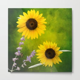 Sunflowers. Metal Print