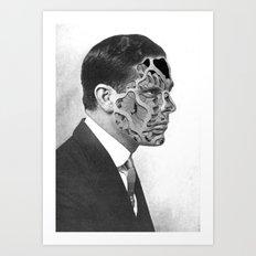 Overlapping (2014) Art Print