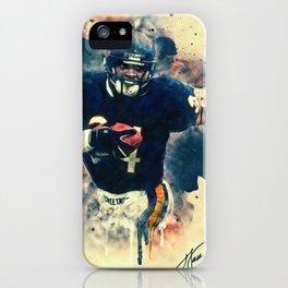 Walter Payton iPhone Case
