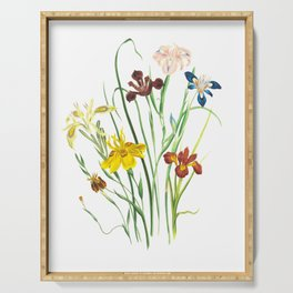 Spring Wildflowers Serving Tray