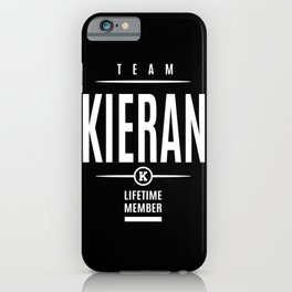 Kieran Personalized Name Birthday Gift iPhone Case