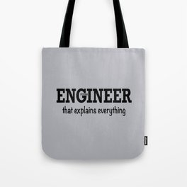 Future Engineer Tote Bag