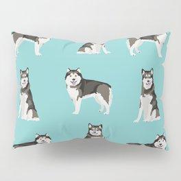 Alaskan malamute  dog breed pet lover malamute gifts Pillow Sham