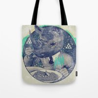 twilight Tote Bags featuring TWILIGHT by Steven Kline