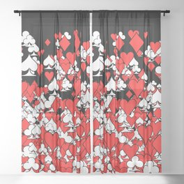 Poker Star II Sheer Curtain