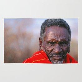 African Maasai Elder Rug