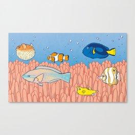 Fish Day Canvas Print