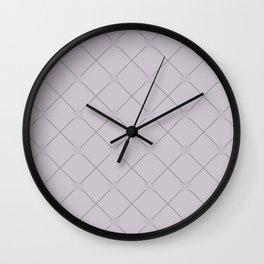 diamond in the sky pattern Wall Clock