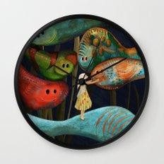 My Fascinating Friends Wall Clock