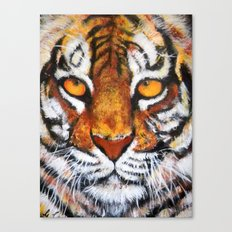Wildlife Painting Series 4 - Bengal Tiger Canvas Print