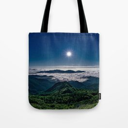 Moonlight Sonata Mountainous Clouds Photographic Tote Bag