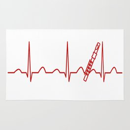 FLUTE HEARTBEAT Rug