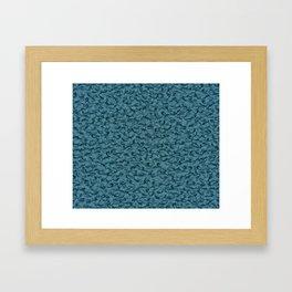 Hammerheads sharks Framed Art Print