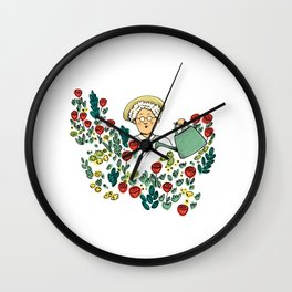The murder at the vicarage Wall Clock