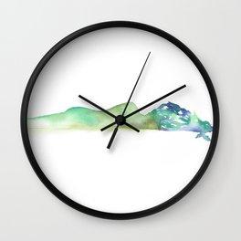 Fall of the Tree Goddess - Cool Tones Wall Clock