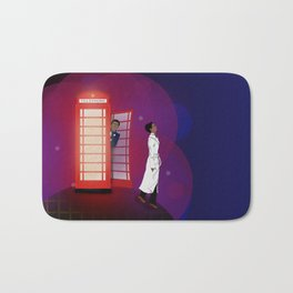 Community Inspector Spacetime  Bath Mat
