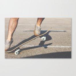 Shred Canvas Print