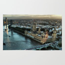 London - Palace Of Westminster Rug