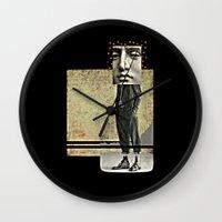 Maverick      by Studio Judith Wall Clock