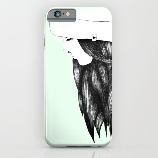 Snow Girl iPhone & iPod Case