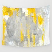 random Wall Tapestries featuring That's Random by T30 Gallery