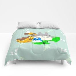 my neighbor totorooo Comforters