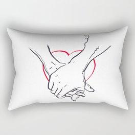 forever love Rectangular Pillow