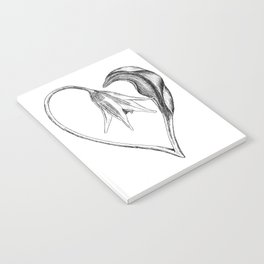 Flower of the Heart Notebook