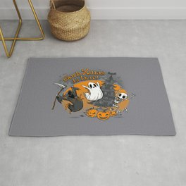 Goth Xmas Is Here Rug