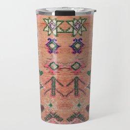 Moroccan Berber Traditional Carpet Travel Mug