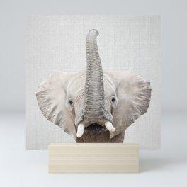 Elephant 2 - Colorful Mini Art Print