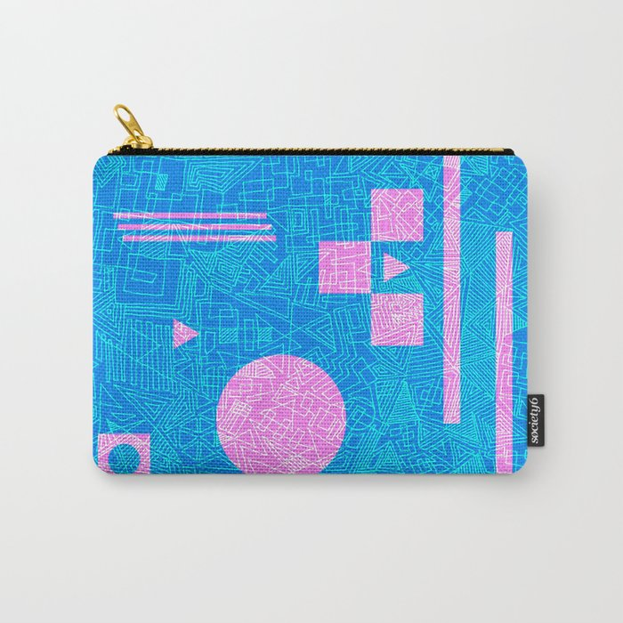 Futurism Carry-All Pouch