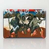 mythology iPad Cases featuring Inuit Mythology: Chapter 1, part 6 by Estúdio Marte