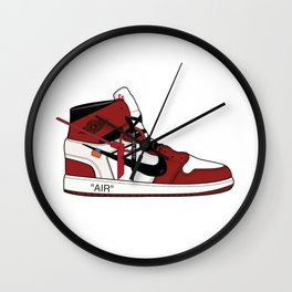 Jordan I x Off White Wall Clock